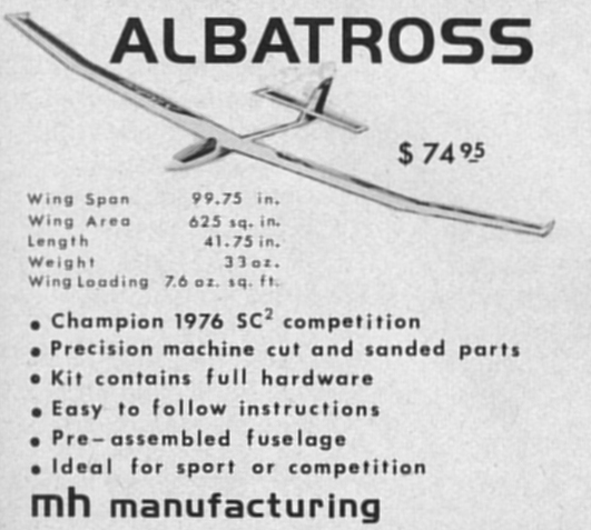 MH Manufactring Albatross