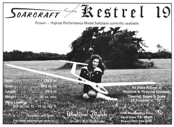 Soarcraft Kestrel 19